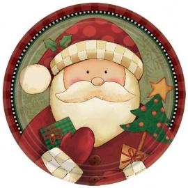 fóliový balón Santa