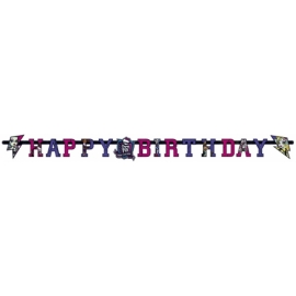 Banner Monster High happy birthday