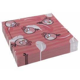 Servítky Angry Birds Pink