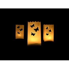 Sáčky na sviečky motýliky