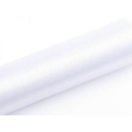 Organza biela úzka