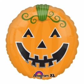 fóliový smajlík halloween