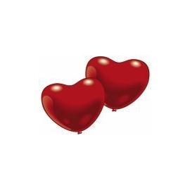 Balóny srdce červené