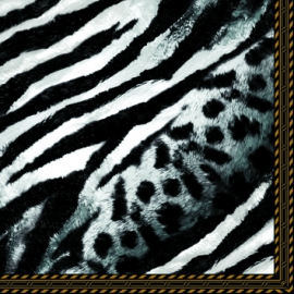 Servítky leopardí vzor
