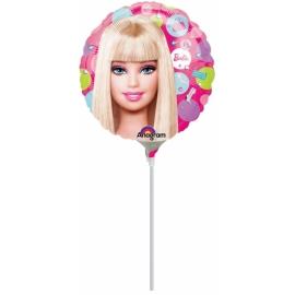 "mini fóliový balón barbie 9"""