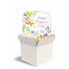 Balík Deň matiek farebné motýle