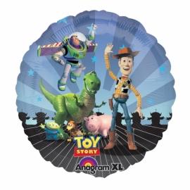 fóliový balón Toy story gang