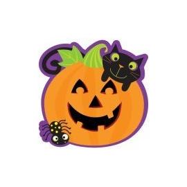 Kartónový výrez Halloween tekvička 2