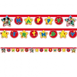 Banner Mickey Mouse a Minnie