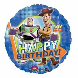 fóliový balón Toy story happy birthday