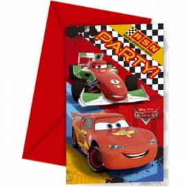 Pozvánky Cars - Autá
