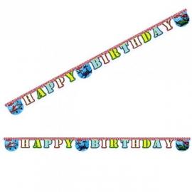 Banner Lietadlá happy birthday