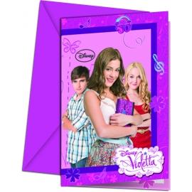 Pozvánky Violetta