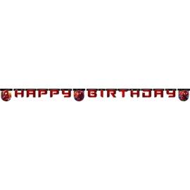 Banner Spiderman happy birthday