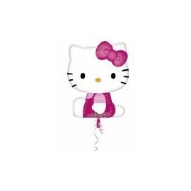 Balón Hello Kitty supershape ružový