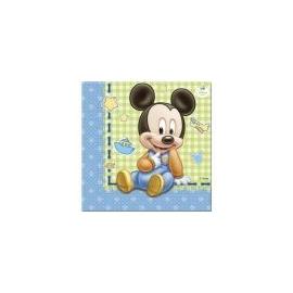 Servítky 1.narodeniny Mickey