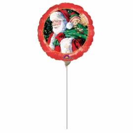 mini fóliový tradičný Santa