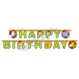 Banner Happy Birthday Safari