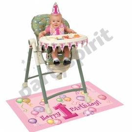 Sedačkový set 1.narodeniny dievčatko