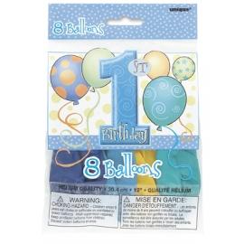 Balóny 1.narodeniny chlapček