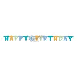 Banner 1.narodeniny chlapček happy birthday