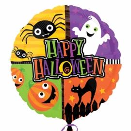 fóliový balón happy halloween