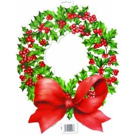 Kartónový výsek vianočná girlanda