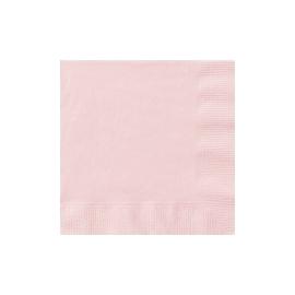 Servítky baby pink