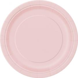 Tanierik veľký baby pink