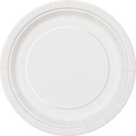 Tanierik veľký biely