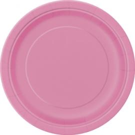 Tanierik veľký hot pink