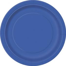 Tanierik veľký modrý