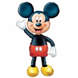 Maxi Foliový balón Mickey Airwalker