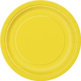 Tanierik veľký žltý