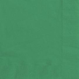 Servítky zelené