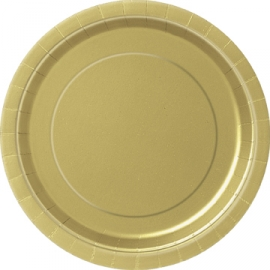 Tanierik veľký zlatý