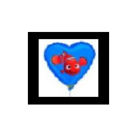 Mini Fóliový balón Nemo Heart