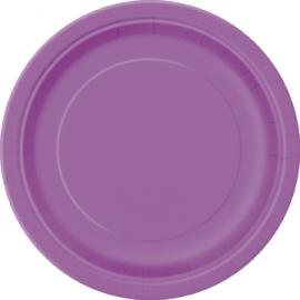 Tanierik veľký fialový
