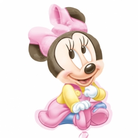 MAXI fóliový balón Minnie baby