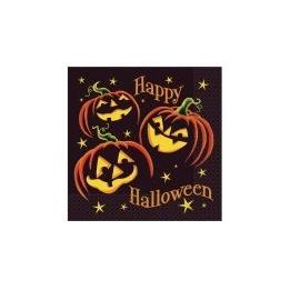 Servítky Halloweensky úsmev