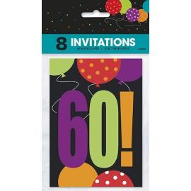 Pozvánky happy 60