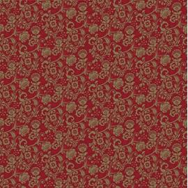 Baliaci papier red ornament
