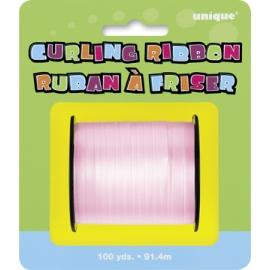 Pastel pink stuha na balóny
