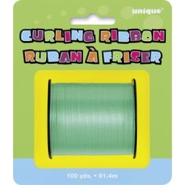 Zelená stuha na balóny