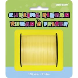 Žltá stuha na balóny