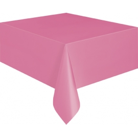 Obrus plastový hot pink