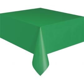 Obrus plastový zelený
