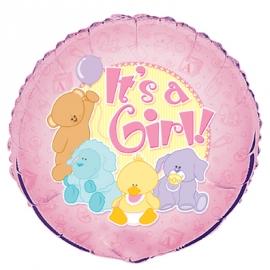 Fóliový balón Itś a girl