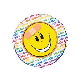 Fóliový balón Smiley Get well soon