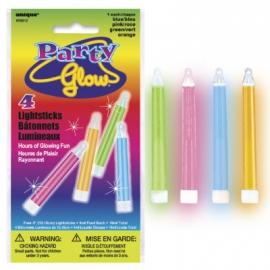 Party glow tyčinky 4ks